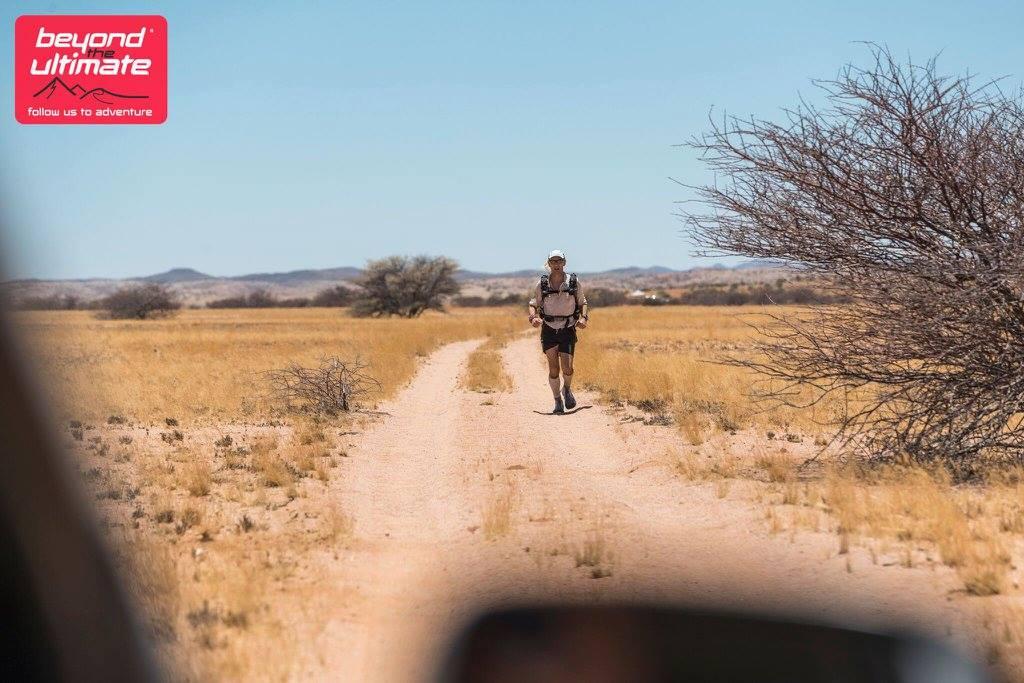 Austin Jarret Running Desert Marathon