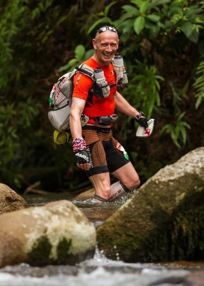 70 river crossings in the Amazon jungle of Peru. Mikkel Beisner