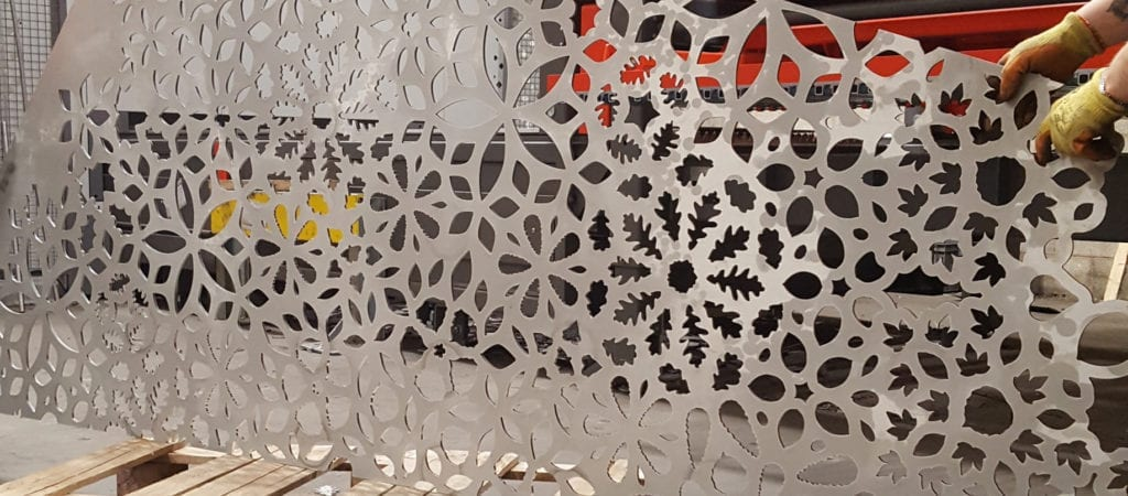 Using Laser Cutting For Decorative Panels | SSC Laser Cutting