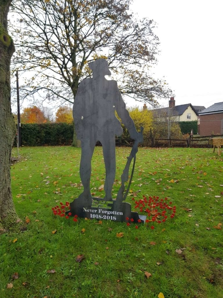 SSC Laser Armistice Remembrance Memorial | SSC Laser Cutting