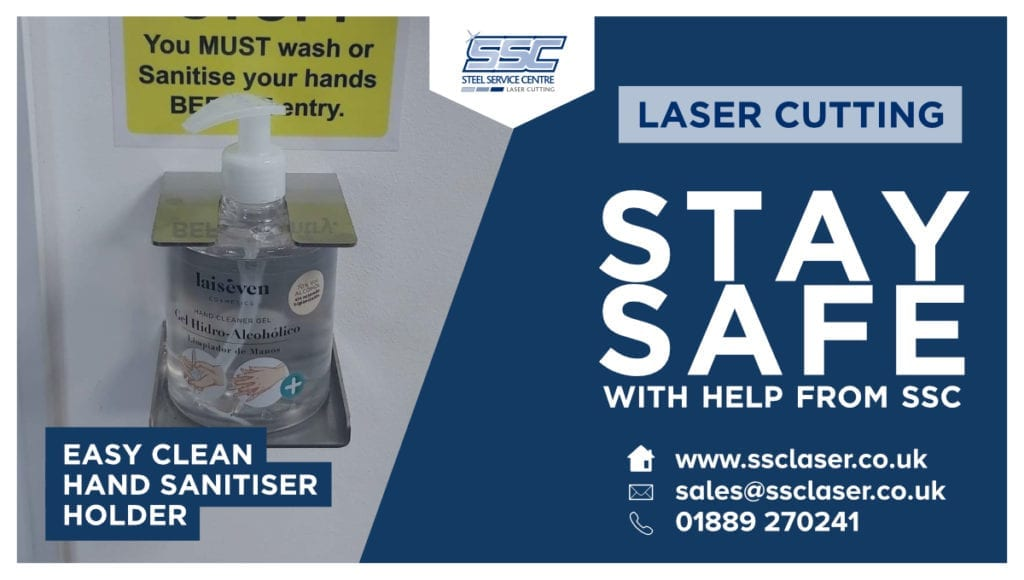 Laser Cut Covid-19 Products from SSC Laser   SSC Laser Cutting